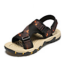 povoljno Muške sandale-Muškarci Udobne cipele Mrežica Ljeto Klasik / Ležerne prilike Sandale Hodanje Prozračnost Sive boje / Crna / plava / Orange & Black