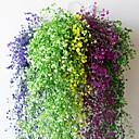 billige Kunstige planter-12 stk blomstervine 72 stk. Blad 1 stk 2 m boligindretning kunstig vedblade blad krans plante plante falsk blad blomst reptil grønne eføy krans