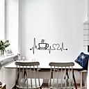 halpa Seinätarrat-luovat kahvikupin seinälasit - tasoseinätarrat kuljetus- / maisema-opiskeluhuone / toimisto / ruokailuhuone / keittiö