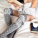 povoljno Čarape i hulahopke-Jako tople Žene Samostojeće čarape - Patterned / Božić Sive boje Lila-roza One-Size