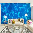 halpa Seinämaalaukset-sininen valtameri sopii tv tausta seinä tapetti murals olohuone kahvila ravintola makuuhuone toimisto xxxl (448 * 280cm