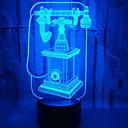 abordables Lumières de Décoration-1pc Veilleuse 3D USB Créatif <=36 V