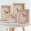 cheap Tabletop Picture Frames-Modern Contemporary Wood Painted Finishes Picture Frames, 2pcs