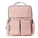halpa Vaippapussit-Vetoketjuilla Hoitolaukku Yhtenäinen väri Yhtenäinen väri Oxford-kangas ulko- Pinkki