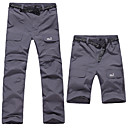 cheap Hiking Trousers & Shorts-Men's Hiking Pants Convertible Pants / Zip Off Pants Outdoor UV Resistant Breathable Moisture Wicking Quick Dry Spring Summer Pants / Trousers Bottoms Hiking Camping Dark Grey Army Green Khaki XL XXL