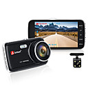 ieftine DVR Mașină-Junsun h7n auto dvr camera dual lens ips 4.0 full hd 1080p registrator video vizionare de noapte înregistrare auto dash cam