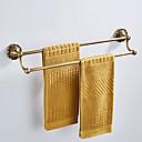 זול מוטות למגבות-מתלה מגבת עיצוב חדש עתיקה / קאנטרי פליז 1pc - חדר אמבטיה / אמבטיה כפול / 2-Tower בר מותקן על הקיר