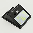 זול חוט נורות לד-4pcs 7 W השמש אור השמש עמיד במים / סולרי / חיישן איפרא אדום לבן קר 3.7 V תאורת חוץ / חָצֵר / גן 35 LED חרוזים
