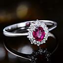 זול נורות לד Bi-pin-בגדי ריקוד נשים טבעת 1pc ורד נחושת Circle Shape ארופאי טרנדי חתונה תכשיטים קלאסי חמוד