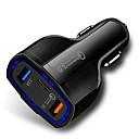זול אורות קיר Flush Mount-טעינה מהירה 3.0 עם USB מסוג C מטען לרכב מובנית אספקת חשמל pd יציאת 35w 3 יציאות עבור Apple ipadiphone x / 8 / פלוס / Samsung גלקסיה / LG nexus htc