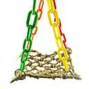 זול אביזרים לציפורים-ציפור מוטות וסולמות ידידותי לחיות מחמד פוקוס צעצוע הרגשתי / צעצועים בד Parrot פלסטי 25 cm