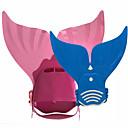 abordables Lampes & Lanternes de Camping-Palmes de natation Sirène Natation Plongée Caoutchouc Thermoplastique PP - pour Enfants Vert Rose Violet