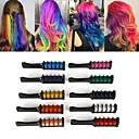 hesapli Moda Bileklikler-10 renkler mini tek kullanımlık kişisel salon kullanımı geçici saç boyası tarak saç boyası için profesyonel boya kalemi tebeşir saç boyama aracı