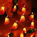 זול חוט נורות לד-4m יצירתי חם לבן חג חג המולד דקורטיבי 3v 1set