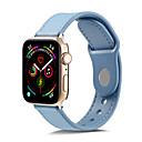 זול מכוניות צעצוע-רצועת עור Tpugenuine עבור רצועת שעונים תפוח 44mm / 40mm / 42mm / 38mm צמיד רך watchband עבור חגורת iwatch 4/3/1/1