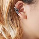 זול קבקבים לנשים-בגדי ריקוד נשים עגילי קליפס עגילים תכשיטים זהב / כסף עבור נשף רקודים רחוב חגים 1pc