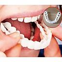 זול LED Grow Lights-הלבנת חיוך מושלמת חיוך שיניים שיניים שן כיסוי על חיוך מיידיות שיניים קוסמטיים תותבת טיפול עבור העליון גודל אחד מתאים