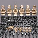 povoljno Building Blocks-ENLIGHTEN Kocke za slaganje Kockice minifigure Građevinski set igračke Poučna igračka 11 pcs Vojni Ratnik Dvorac Dječaci Djevojčice Igračke za kućne ljubimce Poklon