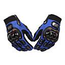 זול חלקים לאופנועים וג'יפונים-אצבע מלאה יוניסקס כפפות אופנוע ניילון נושם / עמיד לזעזועים / מגן