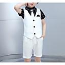 זול כיסוי לאופניים-לבן פוליאסטר חליפה לנושא הטבעת  - 1set כולל עליון / חולצה / קצרים