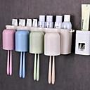 זול גאדג'טים לאמבט-כלים יצירתי מודרני עכשווי פלסטיק 3pcs - כלים מברשת שיניים ואביזרים