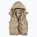رخيصةأون ملابس الماء و الصيد-رجالي سترة ضد الهواء التنفس إمكانية الاحتفاظ بالحرارة صيد السمك مناسب للبس اليومي / قطن