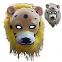 abordables Masques de Fête-Masques d'Halloween Masque d'Animal Lion Horreur PVC Pièces Adulte Unisexe Jouet Cadeau