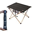 povoljno Namještaj za kampiranje-Kamperski stol s bočnim džepom Prijenosno Mala težina Ultra Light (UL) Može se sklopiti Aluminijski naplatci 7005 Oksford za 3-4 osoba Ribolov Pješačenje Plaža Kampiranje Proljeće Ljeto Crn
