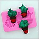 halpa Kakkumuotit-2pcs silikageeli Creative Kitchen Gadget For Keittoastiat jälkiruoka Työkalut Bakeware-työkalut