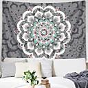 halpa Seinämaalaukset-Kukkais-teema / Bohemian Teema Wall Decor 100% polyesteri Välimeren / Böömi Wall Art, Seinävaatteet Koriste
