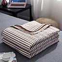 זול שמיכות וכיסויי מיטה-נוֹחַ - 1 יחידה שמיכה קיץ כותנה פסים