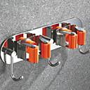 זול מתלים לחלוק-וו תליה לחלוק יצירתי עכשווי פלדת אל חלד / ברזל 1pc מותקן על הקיר