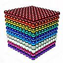 Недорогие Инструменты для чистки транспортных средств-216/512/1000 pcs 5mm Магнитные игрушки Магнитные шарики Конструкторы Сильные магниты из редкоземельных металлов Неодимовый магнит Неодимовый магнит