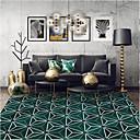 זול שטיחים-שטח שטיחים צורות גיאומטריות / מודרני polyster, מלבן איכות מעולה שָׁטִיחַ