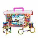 זול חלקים לאופנועים וג'יפונים-GUDI אבני בניין 420 pcs משטרה ג'ודי טנק כלי טיס Alphabet Shape תואם Legoing דגם גיאומטרי אינטראקציה בין הורים לילד משאית מכונית מרוץ טנק כל צעצועים מתנות