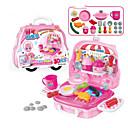 זול מטבחי צעצוע ואוכל צעצוע-משחקי דמויות פלסטיק רך ילדים תינוק כל צעצועים מתנות 19 pcs