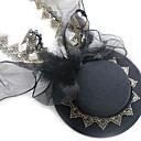 זול הד פיס למסיבות-High Quality EVA / סגסוגת ביגוד לראש עם קשת סרט / תחרה / כובע חלק 1 לבוש יומיומי / בָּחוּץ כיסוי ראש