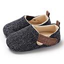 זול נעלי ספורט לילדים-בנים / בנות צעדים ראשונים קנבס נעלי ספורט תינוקות (0-9m) / פעוט (9m-4ys) שחור / כחול כהה / שקד אביב / סתיו