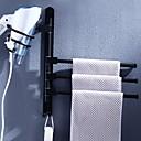 זול קופסאות טלוויזיה-מייבשי שיער עיצוב חדש / מגניב עכשווי מתכת 1pc בר מגבת 3 מותקן על הקיר