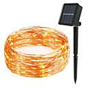 זול אוזניות אלחוטיות אמיתיותTWS-LOENDE 10מ' חוטי תאורה 100 נוריות לבן חם / RGB / לבן עמיד במים / סולרי / Party הפעלה סולרית