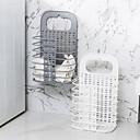 זול שעוני קיר-קיר רכוב מתקפל סל כביסה פלסטיק סל כביסה סל כביסה בגדים מלוכלכים