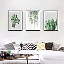 זול אומנות ממוסגרת-דפוס אומנות ממוסגרת סט ממוסגר - טבע דומם פרחוני / בוטני פוליסטירן איור וול ארט