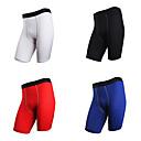 זול תיק ג'יימס בונד-בגדי ריקוד גברים מכנסי יוגה קצרים אופנתי ריצה כושר וספורט כושר אמון מכנסיים קצרים לבוש אקטיבי נושם פתילת לחות ייבוש מהיר באט הרם גמישות גבוהה רזה