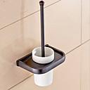 זול מחזיק למברשת האסלה-מחזיק למברשת ניקוי השירותים יצירתי עכשווי פליז 1pc - חדר אמבטיה מותקן על הקיר