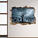 halpa Seinätarrat-halloween horror wall tarroja - sanoja& ampampamp quotes seinä tarroja merkkiä opiskeluhuone / toimisto / ruokailuhuone / keittiö