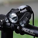 זול פלפונים-LED פנסי אופניים פנס קדמי לאופניים אופנייים רכיבת אופניים מצבי מרובות סופר מואר בטיחות זויית רחבה 18650 300 lm 18650 לבן רכיבה על אופניים / IPX 6