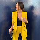 זול נעלי ספורט לגברים-בגדי ריקוד נשים צהוב S M L בלייזר