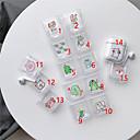 זול אביזרים לאוזניות-האוזניות לשאת תיק סגנון חיות אפל שריטה הוכחה מעטפת פלסטיק