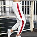 זול ביגוד כושר, ריצה ויוגה-בגדי ריקוד נשים גיזרה גבוהה מכנסי יוגה קולור בלוק אלסטיין ריצה כושר אמון תחתיות לבוש אקטיבי נושם פתילת לחות ייבוש מהיר קשיח