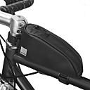 זול דלת חומרה & מנעולים-0.3 L תיקים למסגרת האופניים עמיד למים לביש עמיד תיק אופניים 600D פוליאסטר חומר עמיד למים תיק אופניים תיק אופניים רכיבה על אופניים אופנייים